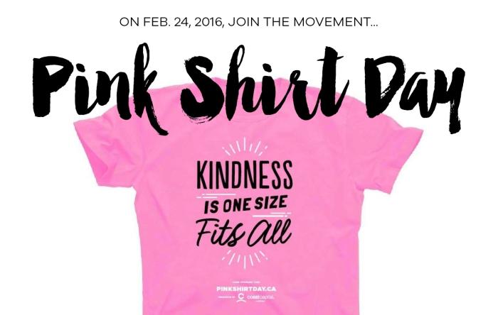 Pink Shirt Day Webfront Image